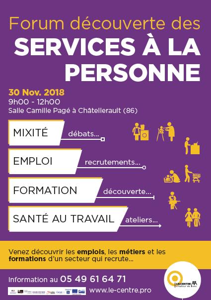Forum decouverte services a la personne